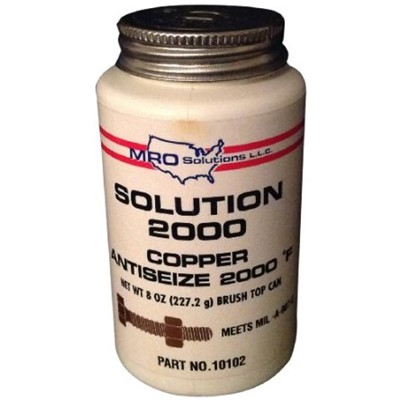 8oz SOLUTION 2000 COPPER ANTISEIZE